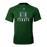 Under Armour Dark Green Tech Tee-Tennis