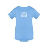 Light Blue Infant Onesie-Official Logo