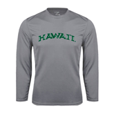 Performance Steel Longsleeve Shirt-Hawaii Arch
