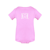 Light Pink Infant Onesie-Official Logo