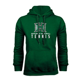 Dark Green Fleece Hood-Tennis