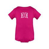 Fuchsia Infant Onesie-Official Logo