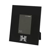 Black Metal 5 x 7 Photo Frame-Official Logo Engraved