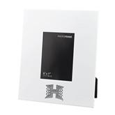 White Metal 5 x 7 Photo Frame-Official Logo Engraved