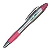 Silver/Pink Blossom Pen/Highlighter-Hawaii