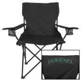 Deluxe Black Captains Chair-Hawaii Arch