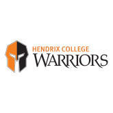 Large Decal-Hendrix College Warriors Horizontal Logo, 12 inches wide