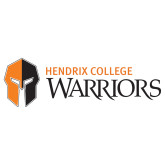Extra Large Decal-Hendrix College Warriors Horizontal Logo, 18 inches wide