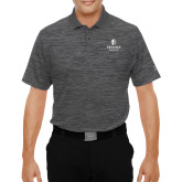 Under Armour Graphite Performance Polo-Hendrix Warriors Stacked Logo