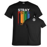 Black T Shirt-Stray Pride