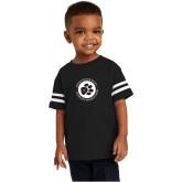 Toddler Black Jersey Tee-Primary Mark