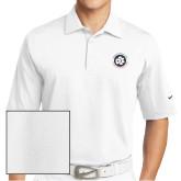 Nike Sphere Dry White Diamond Polo-Primary Mark