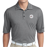 Nike Golf Dri Fit Charcoal Heather Polo-Primary Mark