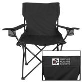 Deluxe Black Captains Chair-Vertical Design