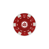 Red Game Chip-Primary Mark