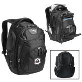 Ogio Stratagem Black Backpack-Primary Mark