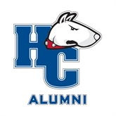 Alumni Decal-HC w/Terrier Head