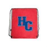 Red Drawstring Backpack-HC