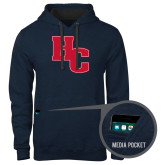Contemporary Sofspun Navy Heather Hoodie-HC