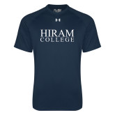 Under Armour Navy Tech Tee-Hiram College Institutional