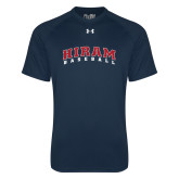 Under Armour Navy Tech Tee-Baseball