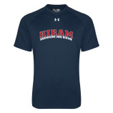 Under Armour Navy Tech Tee-Swimming & Diving