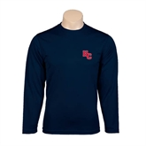 Performance Navy Longsleeve Shirt-HC