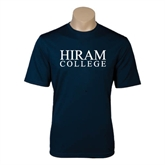 Performance Navy Tee-Hiram College Institutional