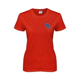 Ladies Red T Shirt-HC