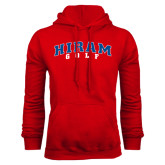 Red Fleece Hoodie-Golf