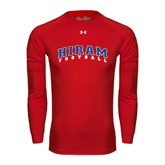 Under Armour Red Long Sleeve Tech Tee-Football