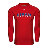 Under Armour Red Long Sleeve Tech Tee-Grandpa