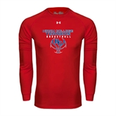 Under Armour Red Long Sleeve Tech Tee-Hiram College Terriers on Ball
