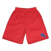 Syntrel Performance Red 9 Inch Length Shorts-HC