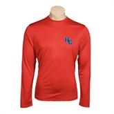 Performance Red Longsleeve Shirt-HC