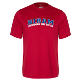 Performance Red Tee-Swimming & Diving