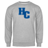 Grey Fleece Crew-HC
