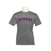 Youth Syntrel Performance Steel Training Tee-Arched Hiram College