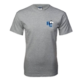 Grey T Shirt-HC w/Terrier Head