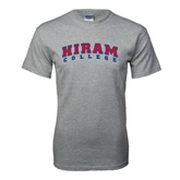 Grey T Shirt-Arched Hiram College