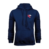 Navy Fleece Hoodie-HC w/Terrier Head