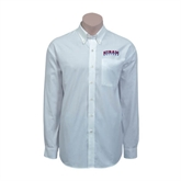 Red House White Long Sleeve Shirt-Arched Hiram College