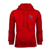 Red Fleece Hoodie-HC