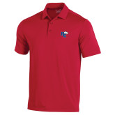 Under Armour Red Performance Polo-HC w/Terrier Head