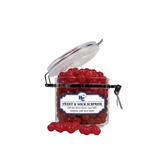 Sweet & Sour Cherry Surprise Small Round Canister-HC w/Terrier Head