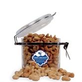 Cashew Indulgence Round Canister-HC w/Terrier Head
