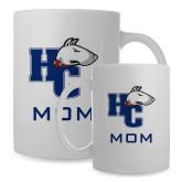 Mom Full Color White Mug 15oz-HC w/Terrier Head