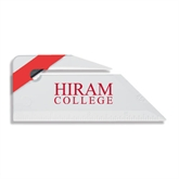 Angled Red Stripe Letter Opener-Hiram College Institutional