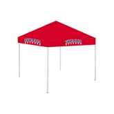 9 ft x 9 ft Red Tent-Arched Hiram College