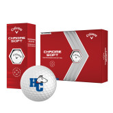 Callaway Chrome Soft Golf Balls 12/pkg-HC w/Terrier Head